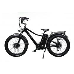 ION Dually - All Wheel Drive Electric Mountain Bike with Super Cruiser Custom Handlebars