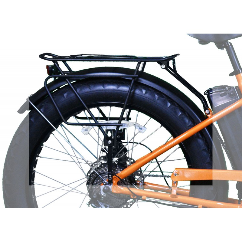 ION Fat Tire Bike Luggage Rack - Heavy Duty
