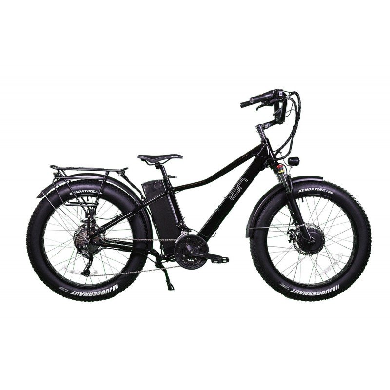 ION Dually Super Cruiser- Dual Motor All Terrain Bike with Custom Handlebars