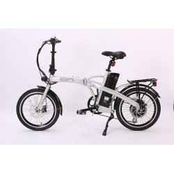 Ion Compact Folding Electric  Bike.  180mm Disc Brakes with Safety Motor Shut-Off.