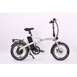 Ion Compact Folding Electric  Bike.  Shimano 7 speed with Acera derailleur.
