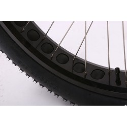 Ion Fat Tire Step Thru Electric Bike. Kenda 26 X 4.0 Tire and Rim