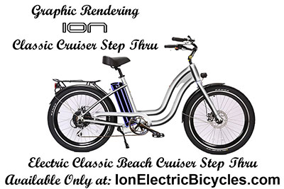 ION Classic Beach Cruiser Step Thru