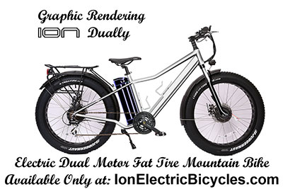 ION Dually Dual Motor Electric Mountain Bike