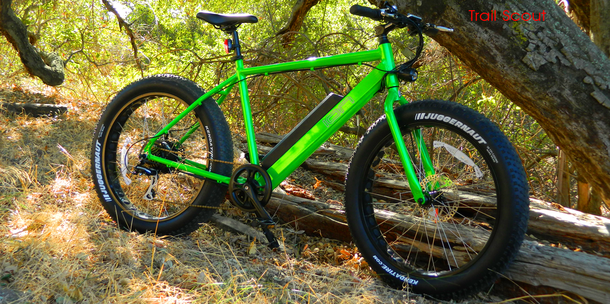 Trail Scout Electric Fat Tire Bikes