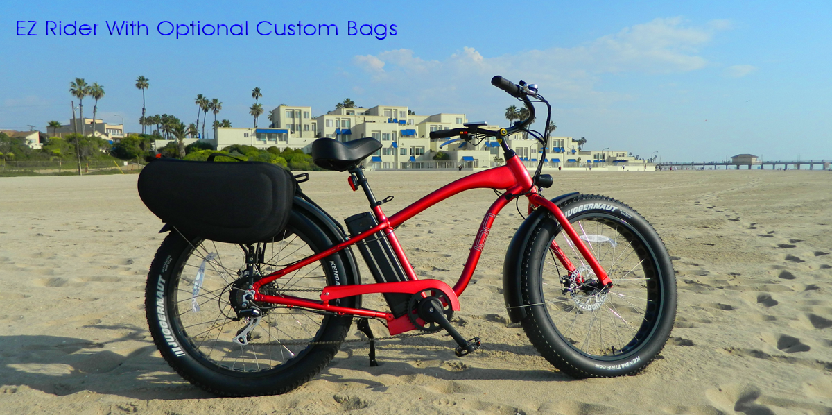EZ Rider Fat Tire Beach Cruiser