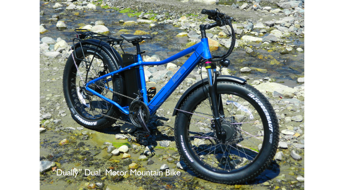 "The ION ""Dually""  27 Speed Dual Motor Fat Tire Mountain Bike is here!"