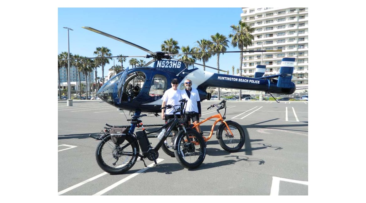 Huntington Beach Getting Ready for The Cops and Cars Event